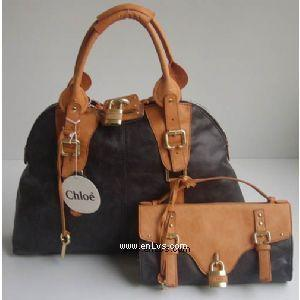 chloe black yellow leather 50896
