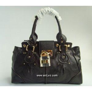chloe black leather 508905